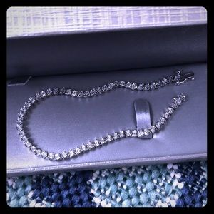 Diamond Tennis Bracelet from Zales
